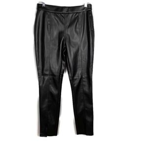 Andrew Marc New York Vegan/Faux Leather Pants S